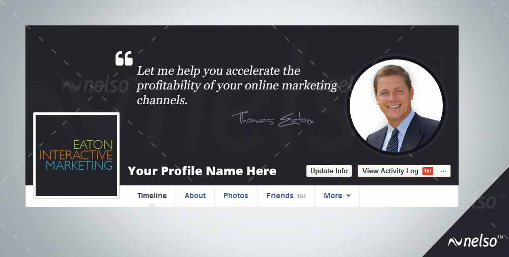 Facebook coverpage template