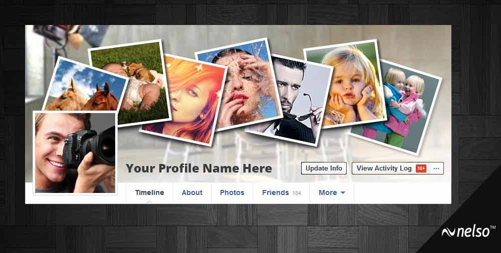 facebook coverpage template three - Photography Cover Page