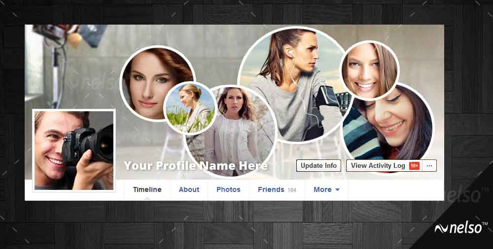 Facebook coverpage template five