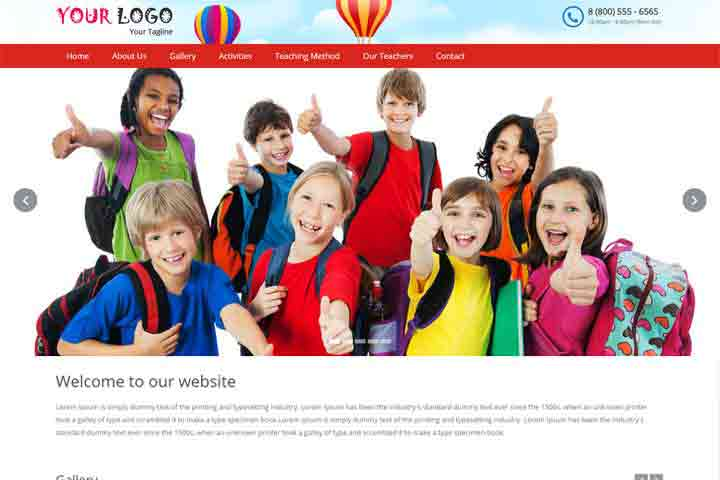 web  development-school-template-1